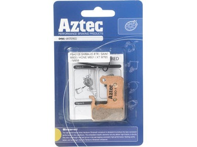 Aztec Sintered disc brake pads for Shimano M965 XTR / M966 callipers