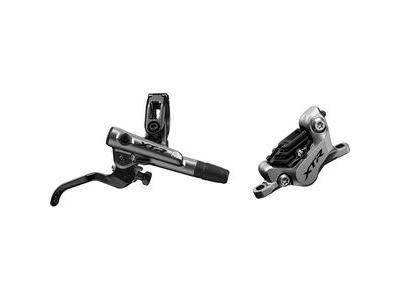 Shimano XTR BR-M9120 XTR bled I-spec-EV ready brake lever/Post mount 4 pot calliper, front