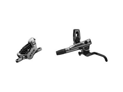 Shimano XTR BR-M9120 XTR bled I-spec-EV ready brake lever/Post mount 4 pot calliper, rear