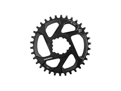 Sram Chain Ring Eagle X-sync 34t Direct Mount 6mm Offset Alum 12 Speed Black 12spd 34t