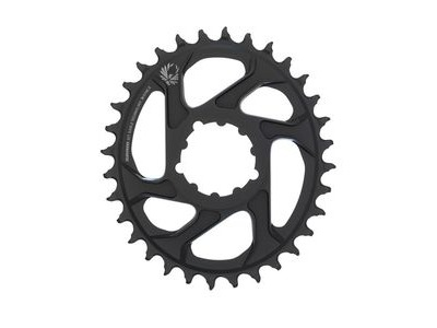 Sram Chain Ring X-sync 2 Oval 32t Direct Mount 6mm Offset Alum Eagle Black 32t