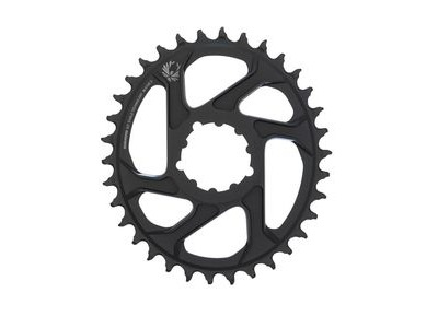 Sram Chain Ring X-sync 2 Oval 34t Direct Mount 3mm Offset Boost Alum Eagle Black 34t
