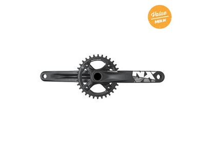 Sram Crank Nx Gxp 1x11 155mm Black W 32t X-sync Chainring (Gxp Cups Not Included) 11spd 155mm 32t