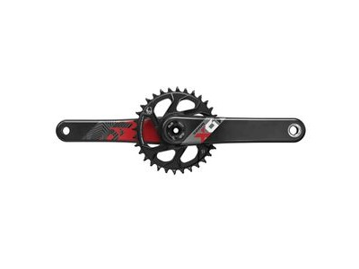 Sram Crank X01 Eagle Boost 148 Dub 12s W Direct Mount 32t X-sync 2 Chainring (Dub Cups/Bearings Not Included)