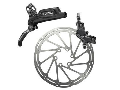 Sram Guide RS - Rear 1800mm Hose - Gloss Black (Reach Swinglink) (Rotor/Bracket Sold Separately) B1 Black 1800mm