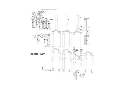 Rock Shox Compression Damper Moco Xx Dna Sid Xx/Xxwc 12-15 Remote Adj (120mm Chassis Only) A1-a3