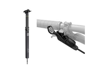 Rock Shox Reverb Stealth B1 - 1x Remote - 30.9mm, 125mm Travel, 390mm Long, (Left/Below) 2000mm Connectamajig (Includes Bleed Kit With Bleeding Edge, Discrete & Matchmaker X Mount) B1 Black 30.9mm