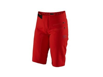 100% Airmatic Women's Shorts Red