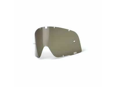 100% Barstow Replacement Dalloz Curved Lens - Olive Green