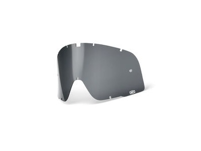 100% Barstow Replacement Dalloz Curved Lens - Smoke