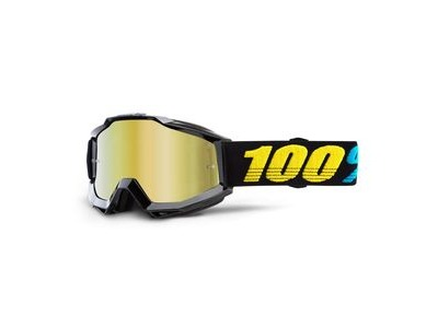100% Accuri Goggles Virgo / Gold Mirror Lens