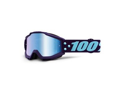 100% Accuri Goggles Maneuver / Blue Mirror Lens