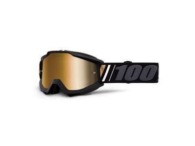 100% Accuri Goggles Off / True Gold Mirror Lens