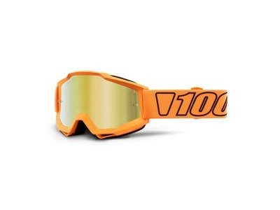 100% Accuri Goggles Luminari / Gold Mirror Lens