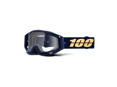 100% Racecraft Goggles Bakken / Clear Lens