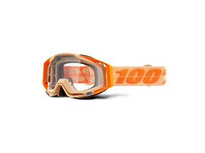 100% Racecraft Goggles Sahara / Clear Lens