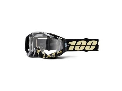 100% Racecraft Goggles Ergoflash / Clear Lens