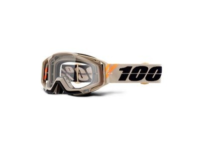 100% Racecraft Goggles Poliet / Clear Lens