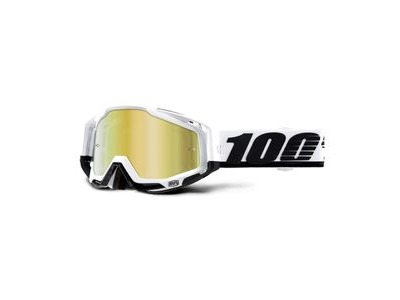 100% Racecraft Goggles Stuu / Gold Mirror Lens
