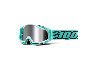 100% Racecraft + Goggles Fasto / Injected Silver Mirror Lens