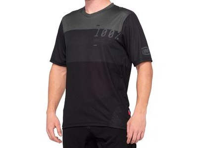 100% Airmatic Jersey Charcoal / Black
