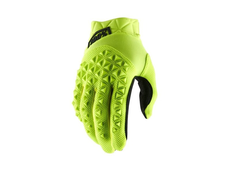 100% Airmatic Youth Glove 2019 Fluo Yellow / Black click to zoom image