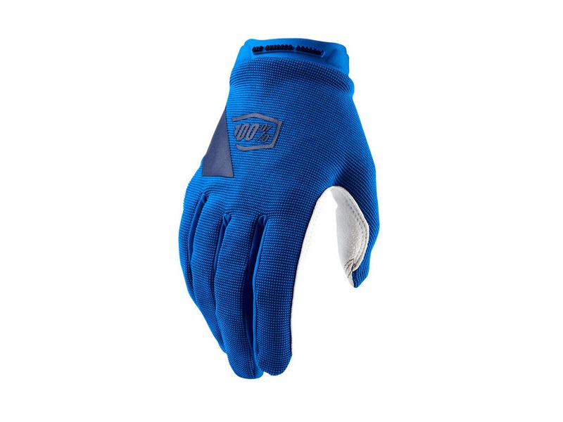 100% Ridecamp Women's Glove Blue click to zoom image