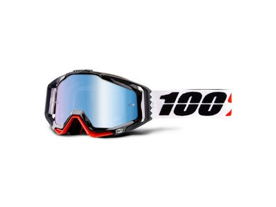 100% Racecraft Goggles Marigot / Blue Mirror Lens