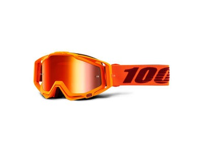 100% Racecraft Goggles Menlo / Gold Mirror Lens