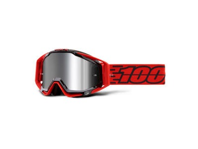 100% Racecraft + Goggles Toro / Injected Silver Mirror Lens