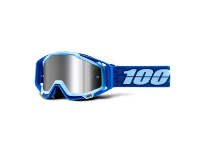100% Racecraft + Goggles Rodion / Injected Silver Mirror Lens