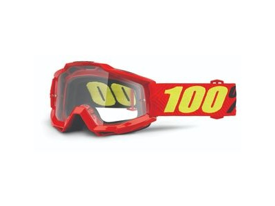 100% Accuri Goggles Saarinen / Clear Lens