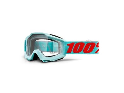 100% Accuri Goggles Maldives / Clear Lens
