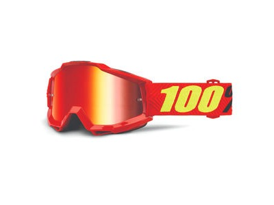 100% Accuri Goggles Saarinen / Red Mirror Lens
