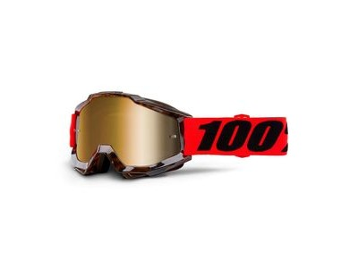 100% Accuri Goggles Vendome / Gold Mirror Lens