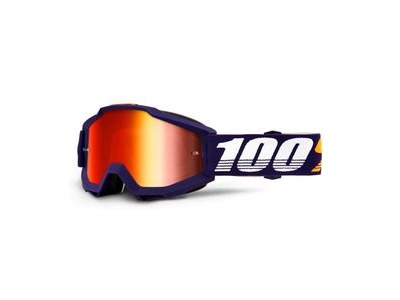100% Accuri Goggles Grib / Red Mirror Lens