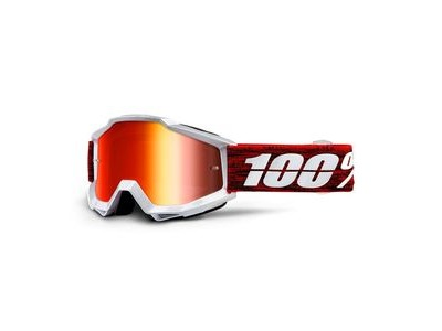 100% Accuri Goggles Graham / Red Mirror Lens