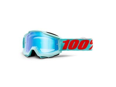 100% Accuri Goggles Maldives / Blue Mirror Lens