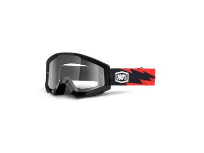 100% Strata Goggles Slash / Clear Lens
