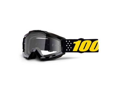100% Accuri Youth Goggles Pistol / Clear Lens