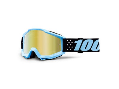 100% Accuri Youth Goggles Taichi / Gold Mirror Lens