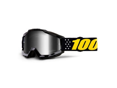 100% Accuri Youth Goggles Pistol / Silver Mirror Lens