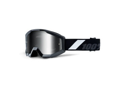 100% Strata Junior Goggles Goliath / Silver Mirror Lens