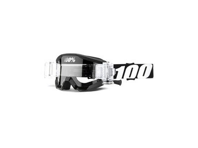 100% Strata Junior Mud Goggles Outlaw / Clear Lens