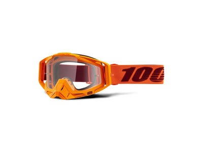 100% Racecraft Goggles Menlo / Clear Lens