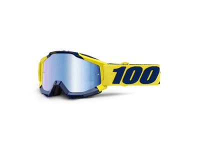 100% Accuri Goggles Supply / Blue Mirror Lens