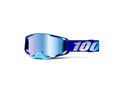 100% Armega Goggle Mirror Lens Royal Essential