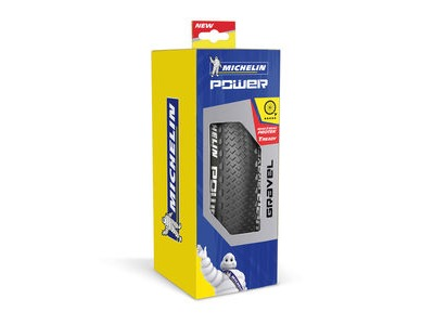 Michelin Power Gravel Tyre 700 x 35c Black (35-622) click to zoom image