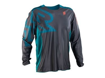 Race Face Ruxton Long Sleeve Jersery 2019 Charcoal
