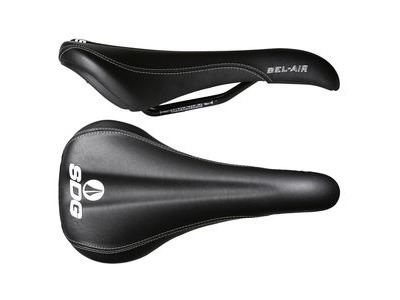 SDG Bel Air Steel Rail Saddle Black
